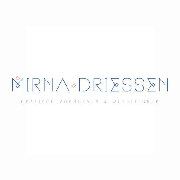 Logo Mirna Driessen | DesignedBy