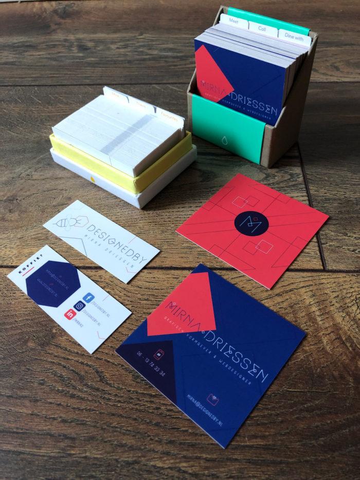 Huisstijl Mirna Driessen | DesignedBy