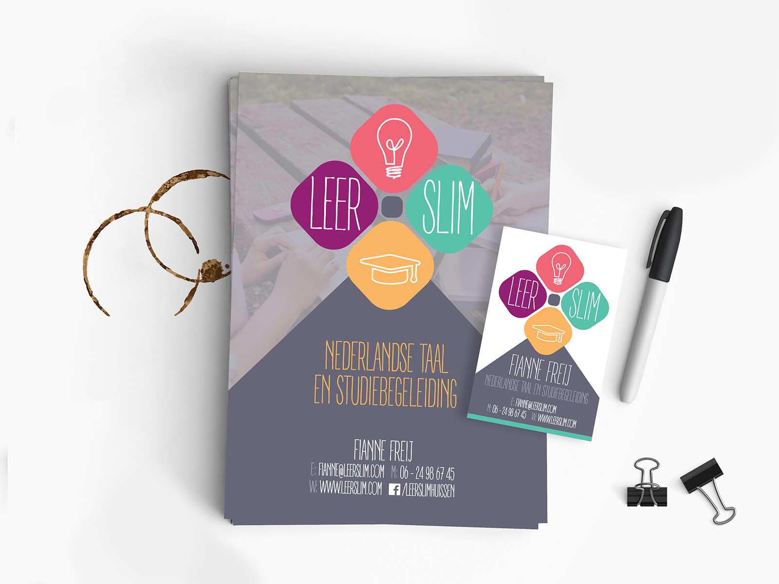 Flyer Leer Slim | DesignedBy