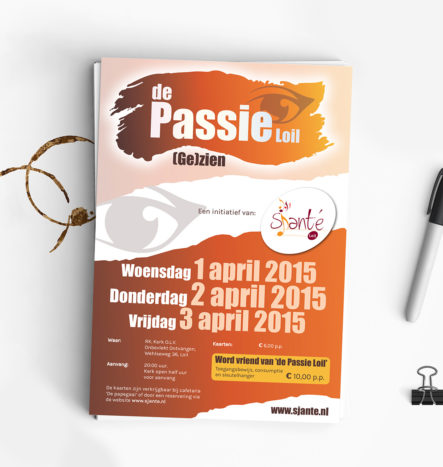 Flyer De Passie Loil | DesignedBy