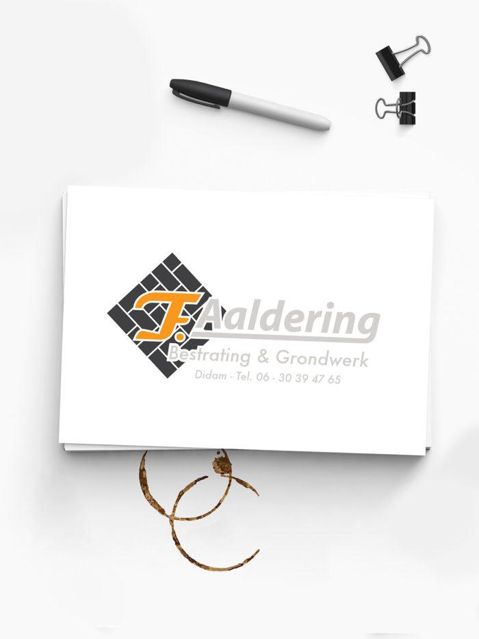Logo Aaldering | DesignedBy