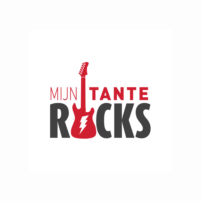 Logo Mijn Tante Rocks! | DesignedBy