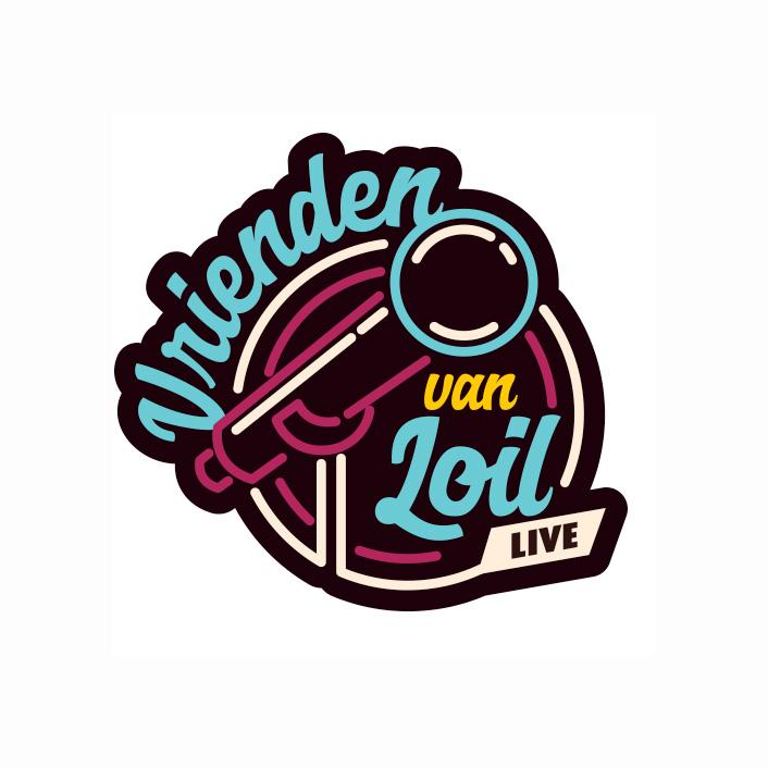 Logo Vrienden Van Loil Live 2018 | DesignedBy