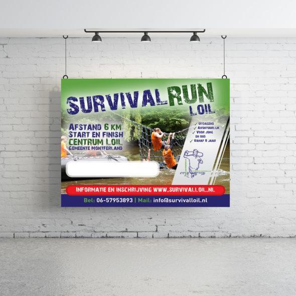 Banier Survivalrun Loil | DesignedBy