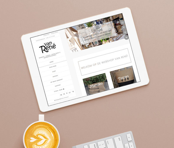 Website Van René | DesignedBy