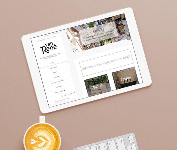 Website Van René | DesignedBy