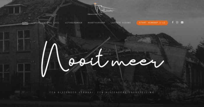 Website Openluchtspel Loil | DesignedBy
