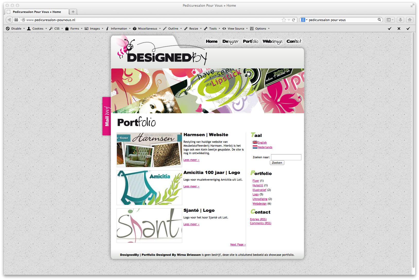 Over DesignedBy   Layout 2